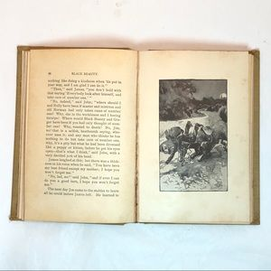 Vintage Accents - Black Beauty  by Anna Sewell - 1902